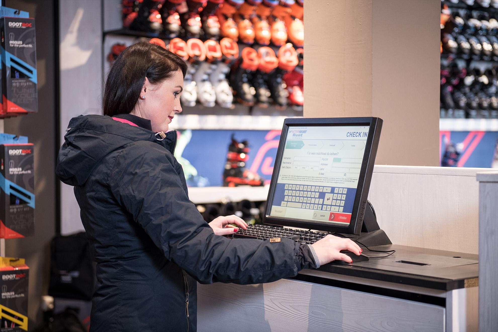 Ski Ausrüstung online reservieren